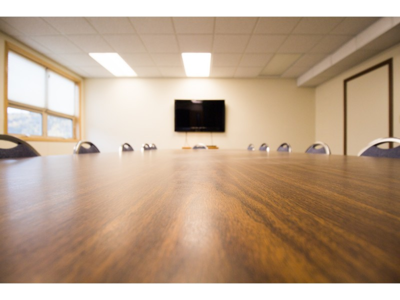 Two conference rooms are available upon request