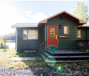 Aspen Cabin for Rent for conferences and family events Fairbanks Alaska