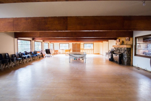 Rent Alpine Lodge Fairbanks AK seat over 100 people
