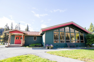 Rent Spruce Lodge in Fairbanks seats 220 people
