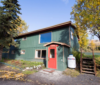 conference and family cabins for rent in Fairbanks AK Cedar B